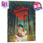 【中商原版】不可思议的月亮地图 英文原版 The Marvellous Moon Map 友谊故事绘本 3-8岁