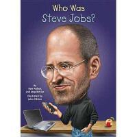 【现货】英文原版 史蒂夫乔布斯是谁 Who Was Steve Jobs? 名人认知系列 中小学生读物