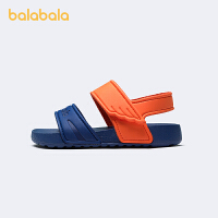 【5.8品类日 2件6折:77.9】巴拉巴拉官方童鞋男童凉鞋中童女童鞋可爱萌趣风2021新款夏季鞋子