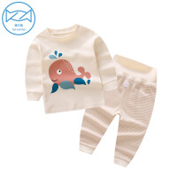 宝宝内衣套装婴儿秋装女1保暖高腰儿童长袖2棉睡衣3秋衣秋裤0岁