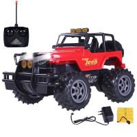 大轮遥控越野车 四通遥控赛车 jeep吉普遥控汽车儿童遥控玩具
