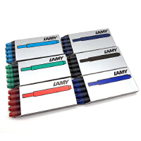 德国LAMY墨胆凌美钢笔通用墨囊墨水芯一次性笔芯T10原装正品