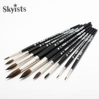 Skyists新概念100松鼠毛水彩笔 手绘勾线笔尖头画笔水粉笔水彩画笔