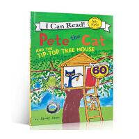3-6岁低幼儿童英语绘本图画书 英文原版My First I Can Read: Pete the Cat and t