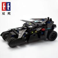 双鹰咔搭CaDA 移动王回力积木C52005狂野战车 模型汽车儿童玩具