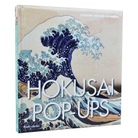 【包邮】 Hokusai Pop-ups 葛饰北斋的立体书 大开本立体艺术书 3D立体画册