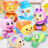 可爱动物发条玩具多件套男女宝宝学爬上链上弦小玩具