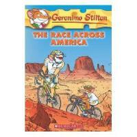 英文原版 老鼠记者37:穿越美国的旅程 Geronimo Stilton #37:The Race Across Am
