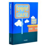 LOGOS CAFE 咖啡馆标志设计 商标设计 LOGO设计 品牌形象设计书籍 广告平面 英文原版