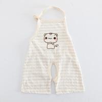 新生婴儿肚兜纯棉春夏季薄款夏天连脚护肚围宝宝小孩儿童连腿兜兜