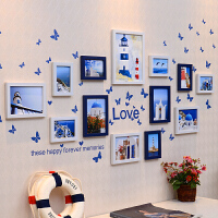 婚纱照相框挂墙5 10 7寸相框像框架创意组合七寸相框摆台 组合相框送墙贴