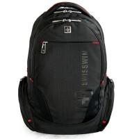 SUISSEWIN瑞士十字双肩包旅行包大容量联想戴尔华硕宏基苹果笔记本电脑包男女双肩包背包学生书包14寸-15.6寸SN8118