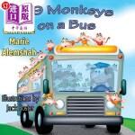【中商海外直订】99 Monkeys on a Bus