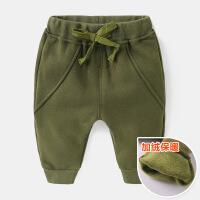 婴儿长裤子加绒加厚女宝宝男童幼儿秋冬装儿童1岁3运动0小童冬装2