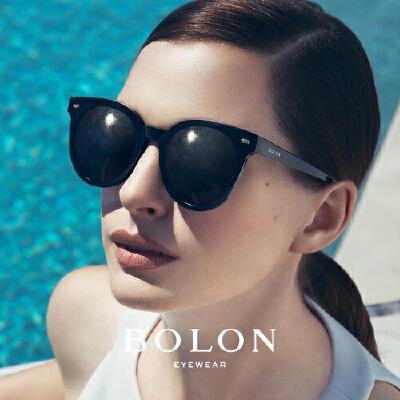 BOLON暴龙太阳眼镜女明星同款猫眼板材墨镜时尚个性眼镜BL3008