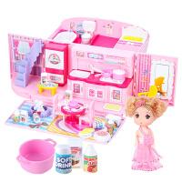 过家家儿童玩具小女孩女童生日礼物城堡别墅公主娃娃屋