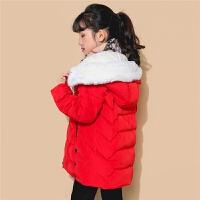 【3折到手价:262】2018新款拉夏贝尔女童羽绒服儿童外套上衣加厚保暖韩版洋气