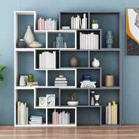 包邮简约组合书柜创意转角书架卧室落地简易置物架隔断展示架