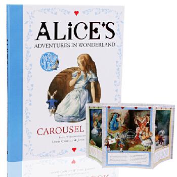 英文原版 Alice's Adventures in Wonderland pop up 爱丽丝梦游仙境 限量豪华 场景 旋转立体书 150周年纪念 漫游奇境记