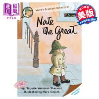 【中商原版】小侦探内特:Nate the Great 汪培�E书单 儿童章节书 桥梁书 7~12岁 英文原版 汪培�E
