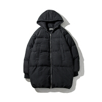 棉衣男士外套中长款棉服韩版潮流冬季面包服加厚棉袄男2018新款