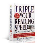 正版现货 全英文版阅读书籍 飞速提高你的阅读速度 三倍速英语阅读 Triple Your Reading Speed