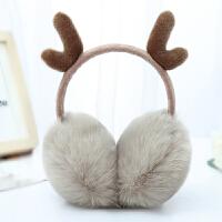 耳罩耳套保暖耳暖耳捂女冬圣诞韩版可爱耳包冬季成人儿童护耳朵罩