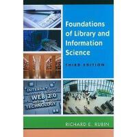【预订】Foundations of Library and Information Science