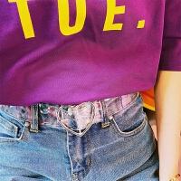 百搭韩版装饰腰带男女休闲学生通用透明 清新爱心皮带简约