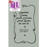 【中商海外直订】Edgefield County, South Carolina Deed Books 44 and