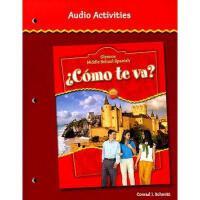 【预订】Glencoe Middle School Spanish Como Te Va? Audio
