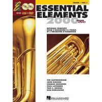 【预订】Essential Elements 2000, Book 1 - BB Tuba T.C.: