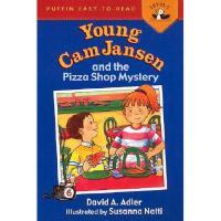 【预订】Young CAM Jansen and the Pizza Shop Mystery Y97801423002