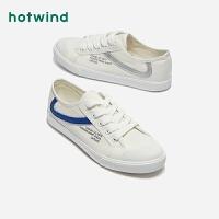 热风女士系带休闲鞋H14W9529