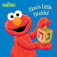 Elmo's Little Dreidel 英文原版 芝麻街:阿莫的小陀螺 纸板书 (Sesame Street)