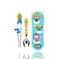 筷子训练筷勺儿童餐具套装不锈钢宝宝学习筷儿童