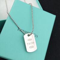 六一儿童节520香港代购项链1837款925纯银男士吊牌圆珠链生日礼物520礼物母亲节