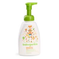 甘尼克宝贝BabyGanics餐具清洗液泡沫型奶瓶清洁液 柑橘味 473ml
