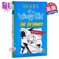 【中商原版】小屁孩日记12(英版,平装)Diary of a wimpy Kid(Book 12) 系列章节书 儿童文学