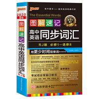20图解速记--9R.高中英语同步词汇必修1-选修8(人教版)(48开本)