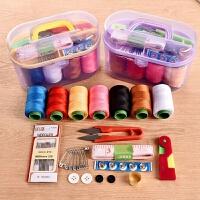 创意家居家懒人生活实用小工具家庭日用品百货小商品礼物品针线盒 颜色随机一盒