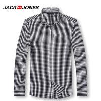 杰克琼斯时尚休闲百搭衬衫18-3-1-213105068031
