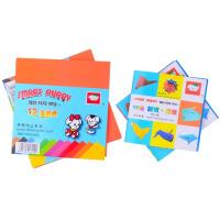 聪明狗折纸 12色18色折纸千纸鹤色纸幼儿园DIY 手工纸