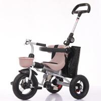 儿童三轮车宝宝童车可折叠手推车脚踏车婴儿手推车1-3-5岁