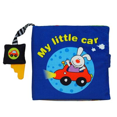 [当当自营]Lalababy 拉拉布书 逻辑推理系列 My little car(我的小汽车)【当当自营】适合6个月-2岁, 暗藏小机关,亲子阅读游戏玩具书