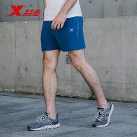 特步男梭织跑步短裤运动裤舒适轻薄轻便运动健身裤子883229679336