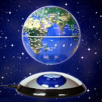 磁悬浮地球仪6寸高端商务礼品送客户领导生日会议纪念办公桌摆件工艺礼品送长辈送亲朋好友送恋人礼物