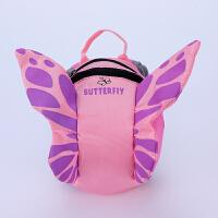 婴幼儿防走失背包1-3岁女童学步包防丢小书包女宝宝可爱小蝴蝶包 图片色