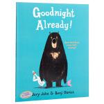 【中商原版】可以说晚安了吗?英文原版 Goodnight Already! 怀特朗读银奖 Benji Davies 获