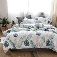 伊迪梦家纺 安睡纯棉印花冬被 全棉床上用品绗缝被芯双人床200*230/220*240被子PV40